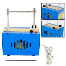 Bench Mount Electric Rope Cutter Heating Cut Rope Cord Cutting Machine Usa Stock