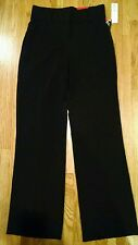 **NWT**Rafaella Perfectly Slimming Black Pants Size 8 Cotton Stretch