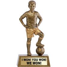 FOOTBALL SOCCER MALE PLAYER BOY MAN AWARD TROPHY ENGRAVED FREE TROPHIES TEAM