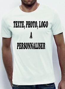 Lot de 10 T-shirts HOMME A PERSONALISER