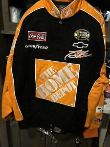 Tony Stewart 20 Home Depot Twill Chase Authentic Size Small Jacket New With Tag