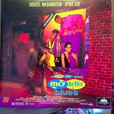 Mo' Better Blues - Spike Lee Joint  Laserdisc Buy 6 for free shipping