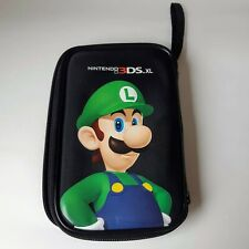 Luigi Super Mario Bros. Official 3DS XL Protective Carrying Case Black