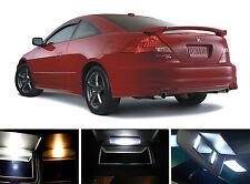Xenon White Vanity / Sun visor  LED light Bulbs for Honda Accord (4 Pcs)