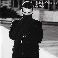 ROBBIE WILLIAMS // Angels Japanese 1998 10 track EP Import CD 16 PG w/ obi