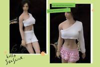 "1/12 Scale Pants Dress Model Female Clothes Set Fit 6"" PH TBL Figure Body Toy"