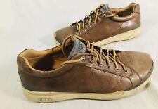 ECCO Biom Golf Shoes Hydromax  Leather Brown  EU 47 / US 13-13.5