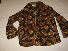 Scooby Doo Boys 2 Piece Top Bottom Brown Long Sleeve Pajama Set Size 6/7