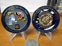 Maryland National Capitol Park Police Investigative Service Unit Challenge Coin