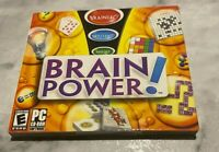 BRAIN POWER! PC CD-ROM Software (PC) Windows 98