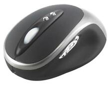 Targus Wireless AMW14US Silver/Black 5 Buttons Wheel RF Wireless Laser Mouse NEW