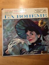 Puccini La Boheme' Highlights RCA LM 2045 Plum Shaded dog 1S/4S 1st pressing NM