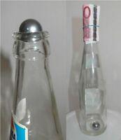 Zaubertrick Die Stahlkugel in der Flasche - raffiniert - durchdringt auch 1 Cent