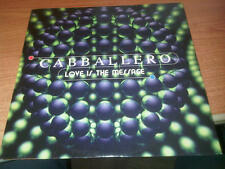 "12"" MIX CABBALLERO LOVE IS THE MESSAGE DISCO MAGIC MIX 1198  EX-/EX- ITALY 1995"