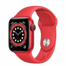 Apple Watch Series 6 GPS 40mm RED Aluminium RED Sport Band R