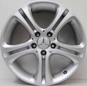 17 inch Genuine Mercedes Benz A / B CLASS 2015 MODEL RUNFLAT ALLOY WHEELS