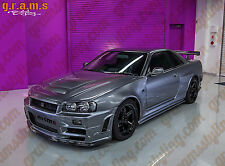 Nissan Skyline R34 Z-tune Style CARBON Fiber Front Wings Fenders Racing Drift V6
