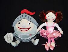 Play School ABC Humpty Knight & Jemima  Plush Doll