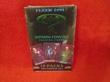 BATMAN FOREVER CARDS 1995 FLEER