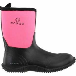 Roper Ladies Barnyard Boot - 9'' Shaft  - Sizes 6 to 11