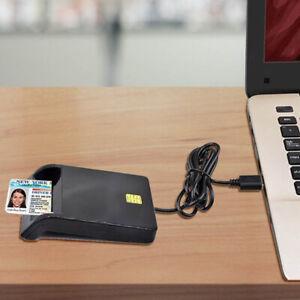 USB Chipkartenleser SIM ID Kartenleser Personalausweis Lesegeraet Reader Box