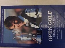 New listing Royal Birkdale 1991 R&A Open Gold Championship official programme vgc