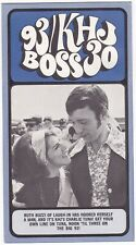 93 KHJ Boss 30 Radio Station Flyer Ruth Buzzi 1970