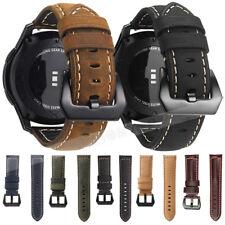 Correa de cuero genuino reloj de muñeca banda Universal Para Pulsera Reloj Inteligente 18mm