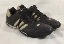 Team ADIDAS Goodyear SNEAKERS Adi Racer Low Racing SHOES Brown Size 12 Rare !