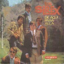 """LOS SIREX 7""""PS Spain 1967 De aquí para allá"""