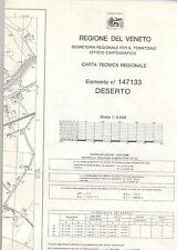 ESTE  -  Padova  -  Carta tecnica regionale  -  Deserto  -  Elemento n.147133