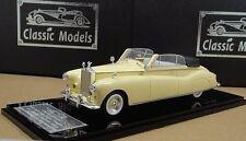 Rolls Royce Phantom IV Mulliner Cabriolet 1951 #4AF6,Cream-colored