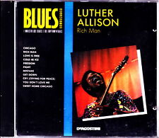 LUTHER ALLISON - Rich Man  (Guitar Blues) No Barcode CD RARE IMPORT
