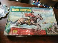 Vintage Boardgame A Berwick Game: Show Jumping