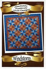 WINDSTORM QUILT QUILTING PATTERN, From Absolutely Positively Quilt Designs NEW