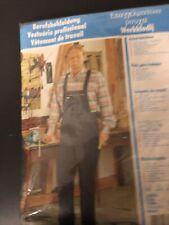 Arbeitshose Latzhose Berufskleidung blau neu Gr. 50