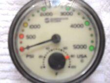Sherwood Standard 2-3/8 inch 5,000 Psig w/ Temperature, New Hp spool & hose