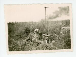 BEST: Radio Operator Only Few Hundred Yards From Smoking Battlefield Cool Photo