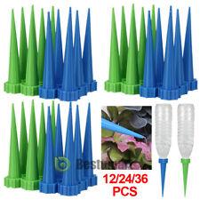 Lot Auto Self Watering Irrigation Spike Garden Cone Plant Flower Drip Sprinkler
