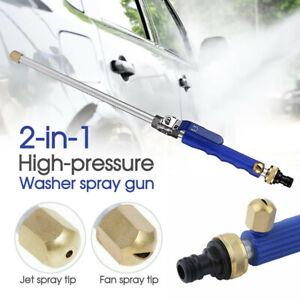 Hydro Jet High Pressure Power Washer Water Spray Gun Nozzle Wand Cleaner New