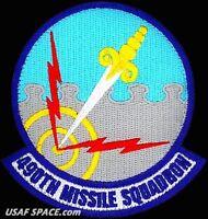USAF 490th MISSILE SQUADRON -Minuteman III- Malmstrom AFB. MT - ORIGINAL PATCH