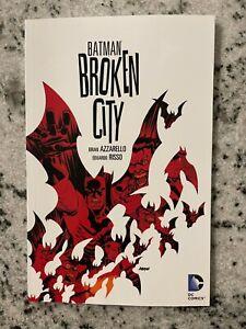 Batman Broken City DC Comics TPB Graphic Novel Comic Book Gotham Robin Ivy J588