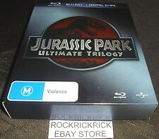 JURASSIC PARK ULTIMATE TRILOGY BLU-RAY + DIGITAL COPY (6 DISC SET)