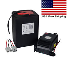48V 20Ah Lithium 1500W Battery Pack for Ebike Scooter Golf Cart LiFePO4 BMS