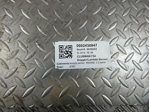 MINI (BMW) CLUBMAN F54 OXYGEN LAMBDA SENSOR 2.0L B48A20M0 (B48A20A) 8500992 15-2