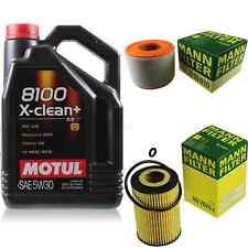 MOTUL 5 L 5W-30 MOTOR-ÖL+MANN-FILTER Audi A6 4G2 C7 4GC 2.0 TDI quattro Avant