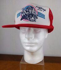 VTG Pittsburgh Zoo Red Adjustable Trucker Hat Snapback Cap Hipster Retro Tiger