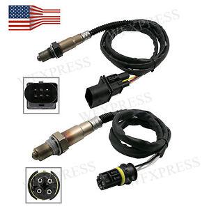 New 2x Air Fuel Ratio Oxygen O2 Sensor For 2003-2005 Mercedes-Benz C230 L4-1.8L