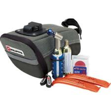Weldtite CO2 Cycle inflator bike pump wedge saddle bag and puncture repair kit