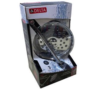 """Delta 7537DChrome 3-Spray Shower Head W/ 10"""" Adjustable Arm"""